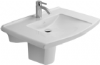 Villeroy & Boch Lifetime Wash Hand Basin Wall Hung 700 x 535 1 tap hole 5174.80.01 alpine white